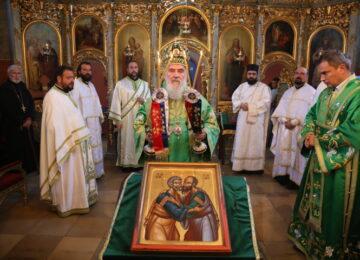Патријарх Иринеј служио у Топчидерској цркви
