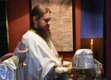 Отац Игњатије Шестаков служио у топчидерској цркви